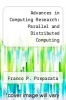 cover of Advances in Computing Research: Parallel and Distributed Computing