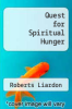 cover of Quest for Spiritual Hunger