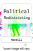 cover of Political Redistricting
