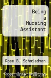 Cover of Being a Nursing Assistant 3 (ISBN 978-0893030278)