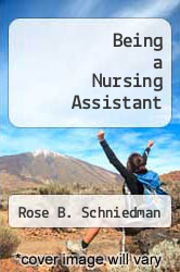 Cover of Being a Nursing Assistant 3 (ISBN 978-0893030490)