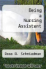 cover of Being a Nursing Assistant (5th edition)