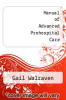 cover of Manual of Advanced Prehospital Care (2nd edition)