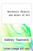 cover of Aesthetic Objects and Works of Art