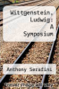 cover of Wittgenstein, Ludwig: A Symposium