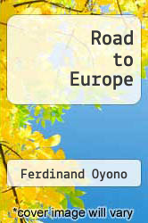 Cover of Road to Europe EDITIONDESC (ISBN 978-0894105906)