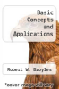 cover of Basic Concepts and Applications