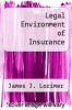 cover of Legal Environment of Insurance (4th edition)