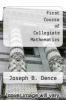 cover of First Course of Collegiate Mathematics