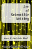 cover of Art of Scientific Writing