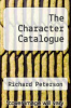 cover of The Character Catalogue