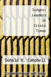 Cover of Judges: Leaders in Crisis Times EDITIONDESC (ISBN 978-0896937413)
