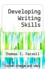cover of Developing Writing Skills (2nd edition)