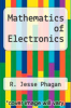 cover of Mathematics of Electronics