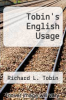 cover of Tobin`s English Usage