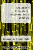 cover of Children`s Literature: Discovery for a Lifetime