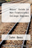 cover of Bears` Guide to Non-Traditional College Degrees (9th edition)