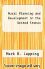 cover of Rural Planning and Development in the United States