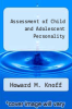 cover of Assessment of Child and Adolescent Personality