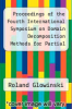 cover of Proceedings of the Fourth International Symposium on Domain Decomposition Methods for Partial Differential Equations