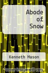 Cover of Abode of Snow EDITIONDESC (ISBN 978-0898861426)