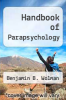 cover of Handbook of Parapsychology