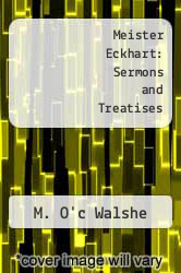 Cover of Meister Eckhart: Sermons and Treatises EDITIONDESC (ISBN 978-0906540978)