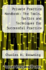 cover of Private Practice Handbook: The Tools, Tactics and Techniques for Successful Practice Development (4th edition)