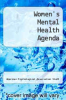 cover of Women`s Mental Health Agenda