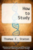 cover of How to Study (7th edition)