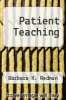 cover of Patient Teaching