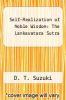 cover of Self-Realization of Noble Wisdom: The Lankavatara Sutra