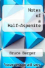 cover of Notes of a Half-Aspenite