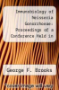 cover of Immunobiology of Neisseria Gonorrhoeae: Proceedings of a Conference Held in San Francisco, California, 18-20 January 1978