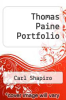 cover of Thomas Paine Portfolio