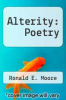 cover of Alterity: Poetry