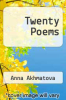 cover of Twenty Poems ( edition)