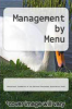cover of Management by Menu (3rd edition)
