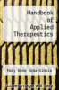 cover of Handbook of Applied Therapeutics