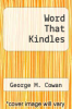 cover of Word That Kindles