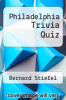 cover of Philadelphia Trivia Quiz
