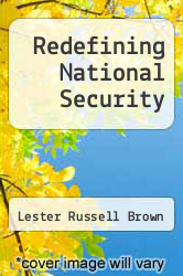 Cover of Redefining National Security EDITIONDESC (ISBN 978-0916468132)