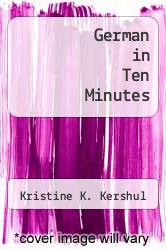 Cover of German in Ten Minutes EDITIONDESC (ISBN 978-0916682996)