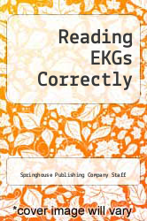 Cover of Reading EKGs Correctly EDITIONDESC (ISBN 978-0916730611)