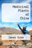 cover of Medicinal Plants of China