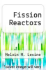 cover of Fission Reactors
