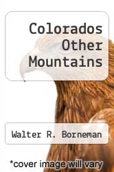 Cover of Colorados Other Mountains EDITIONDESC (ISBN 978-0917895005)
