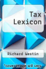 cover of Tax Lexicon