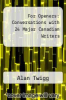 cover of For Openers : Conversations with 24 Major Canadian Writers