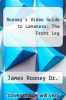 cover of Rooney`s Video Guide to Lameness : The Front Leg